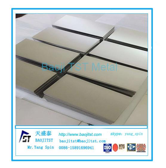 钛板钛合金板钛钯合金板