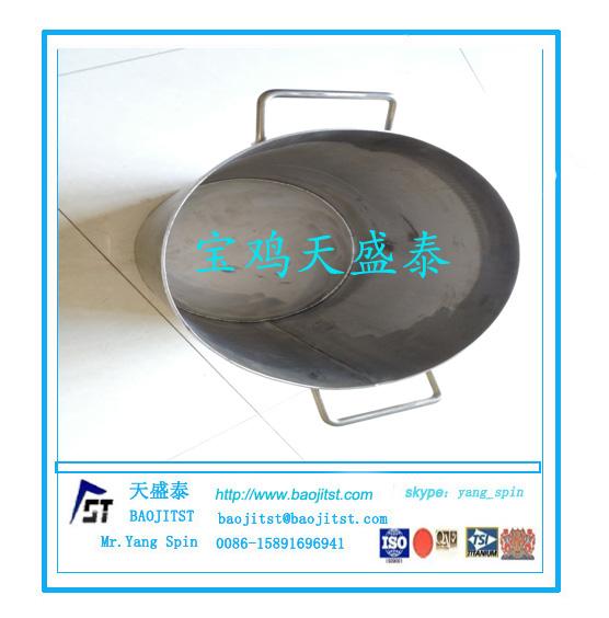 化工专用钛桶 金银煮水钛筒