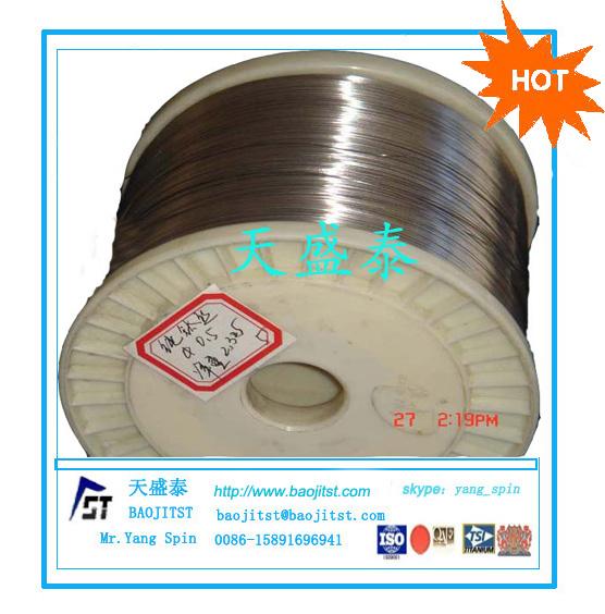 优质镍钛记忆合金丝 GB/T3623