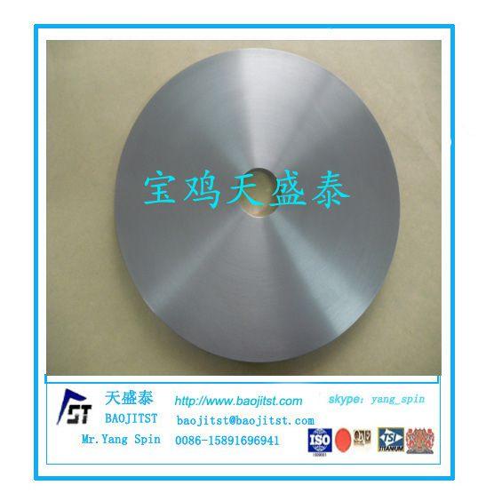 钛环精加工锻制钛环