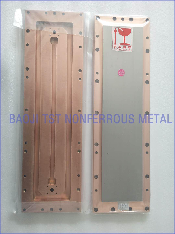 铜背板帮定 空腔水回路铜背板帮定
