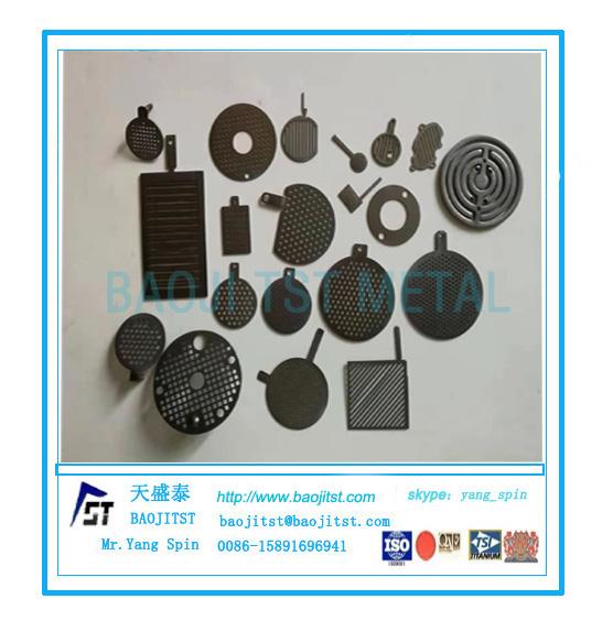 钛阳极配件钛钇加工件钛铑机加工制品
